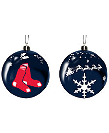 "Memory Company Boston Red Sox 3"" Sled Glass Ball"