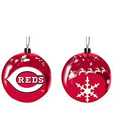 "Memory Company Cincinnati Reds 3"" Sled Glass Ball"