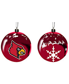"""Memory Company Louisville Cardinals 3"""" Sled Glass Ball"""