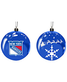"Memory Company New York Rangers 3"" Sled Glass Ball"