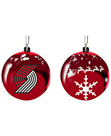 "Memory Company Portland Trail Blazers 3"" Sled Glass Ball"