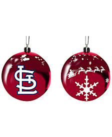 "Memory Company St. Louis Cardinals 3"" Sled Glass Ball"