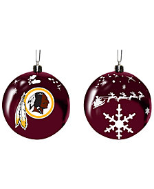 "Memory Company Washington Redskins 3"" Sled Glass Ball"