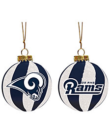 "Memory Company Los Angeles Rams 3"" Sparkle Glass Ball"