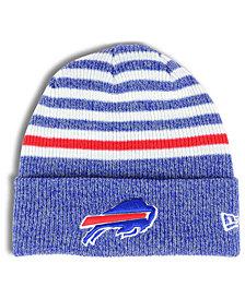 New Era Buffalo Bills Striped2 Cuff Knit Hat