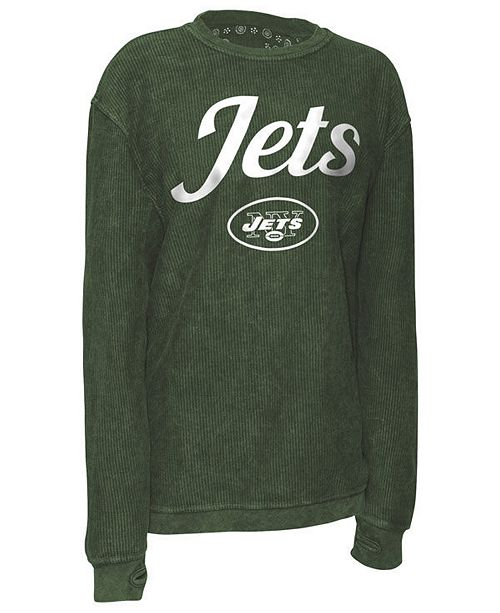 G-III Sports Women's New York Jets Comfy Cord Top