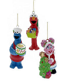 Kurt S Adler Cartoon Pop Culture Sesame Street Ornaments