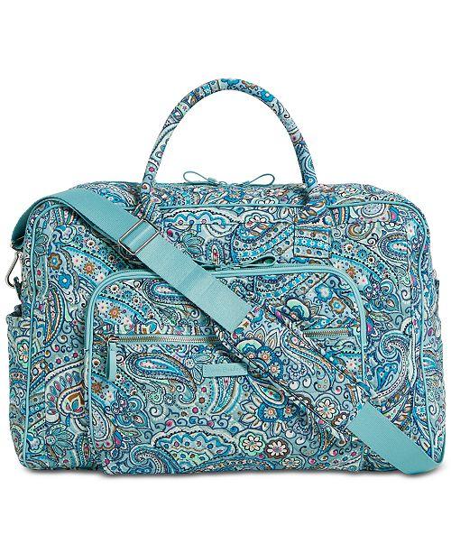 0daa1f838 Vera Bradley Iconic Weekender Travel Bag & Reviews - Handbags ...