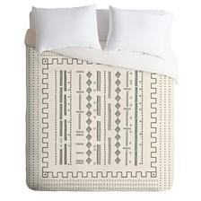 Deny Designs Iveta Abolina Mud Cloth Inspo VI Queen Duvet Set