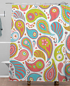 Deny Designs Heather Dutton Power Paisley Shower Curtain