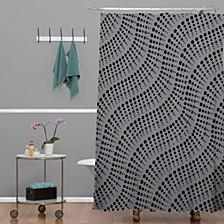 Heather Dutton Coral Reef Shower Curtain