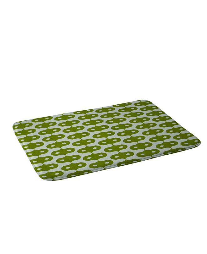 Deny Designs Holli Zollinger Climbing Green Bath Mat