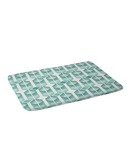 Deny Designs Heather Dutton De Lux Mint Bath Mat