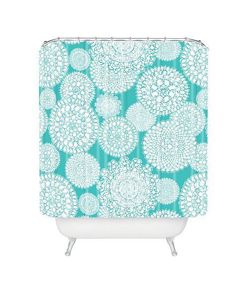 Deny Designs Heather Dutton Delightful Doilies Tiffany Shower Curtain
