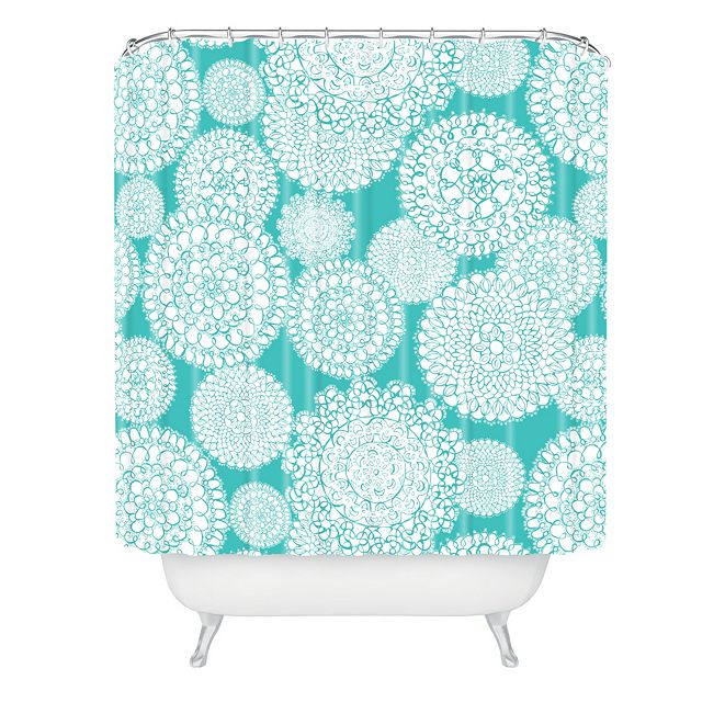 Deny Designs Heather Dutton Delightful Doilies Tiffany Shower Curtain