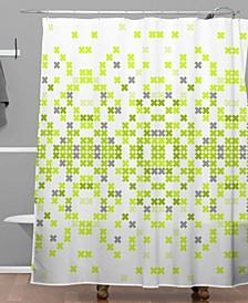 Holli Zollinger Needlework Shower Curtain