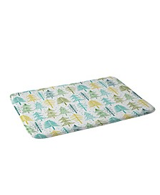 Heather Dutton Oh Christmas Tree Frost Bath Mat