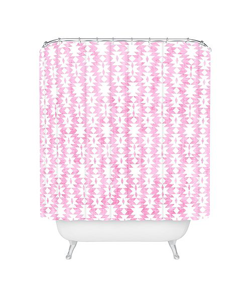 Deny Designs Holli Zollinger Tribal Pink Shower Curtain