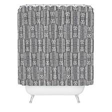 Holli Zollinger Mudcloth Linen Shower Curtain