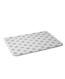 Holli Zollinger French Linen Ikat Dot Bath Mat