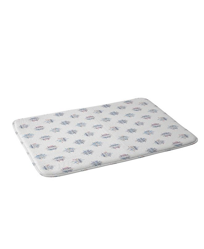 Deny Designs Holli Zollinger French Linen Ikat Dot Bath Mat