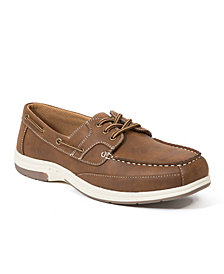 Deer Stags Men's Mitch Memory Foam Casual Comfort Boat Shoe Oxford