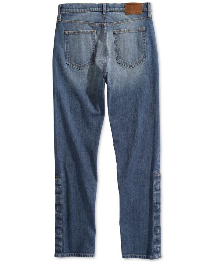 Tommy Hilfiger Men's Hamilton Relaxed Jeans  with Magnetic Fly & Reviews - Jeans - Men - Macy's