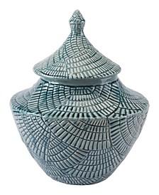 Escalera Small Covered Jar