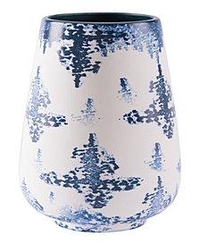 Nube Lg Vase Blue & White
