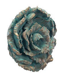 Roseton Wall Decor Antique Blue
