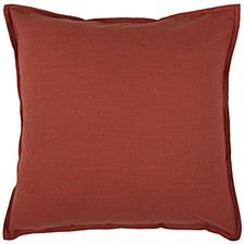 """Solid 20"""" x 20"""" Poly Filled Pillow"""