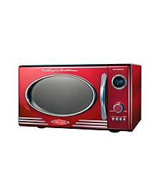 Nostalgia Retro 0.9 Cubic Foot Microwave Oven