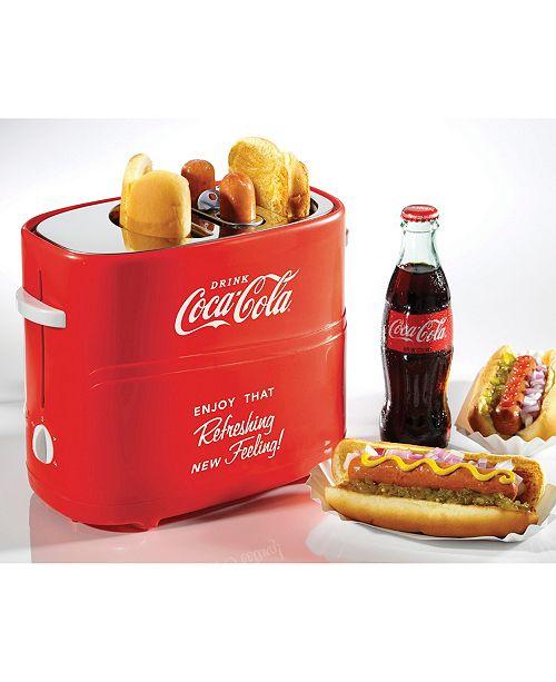 Nostalgia Coca-ColaPop-Up Hot Dog Toaster