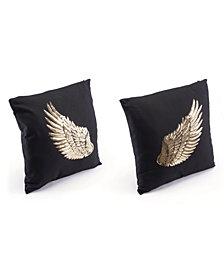 Zuo Metallic Wings Pillow, Set of 2 Pillows