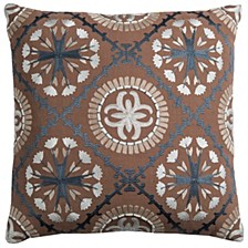 """18"""" x 18"""" Medallion Poly Filled Pillow"""