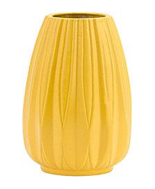 Acacia Lg Vase Yellow