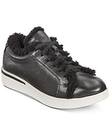 Gentle Souls By Kenneth Cole Haddie Cozy Lace-Up Sneakers