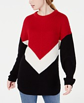 Planet Gold Juniors  Colorblocked Chevron Sweater a0e0a2073
