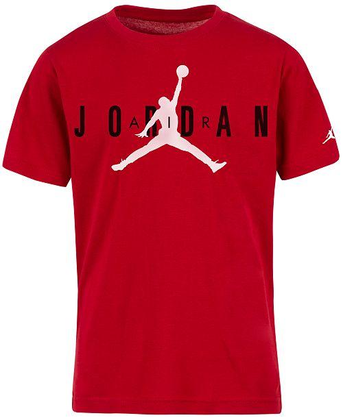 Jordan Big Boys Graphic-Print Cotton T-Shirt