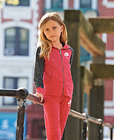 Nike Little Girls Gym Vintage Hoodie
