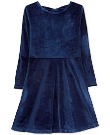 Carter's Little & Big Girls Velvet Dress