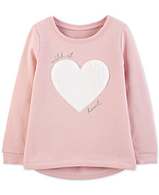 Carter's Toddler Girls Wild at Heart Graphic Top