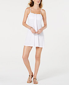 Hula Honey Juniors' Bandeau Cover-Up Dress, Created for Macy's
