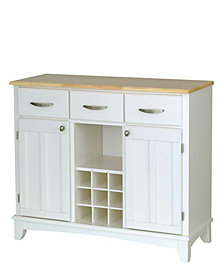 Home Styles Buffet of Buffet with Wood Top