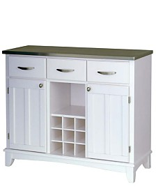 Home Styles Buffet of Buffet with Stainless Top