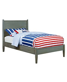 Adelie Mid-Century Modern Twin Bed