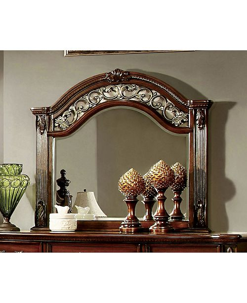 Furniture of America Perrena Traditional Mirror