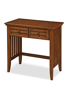 Home Styles Arts and Crafts Cottage Oak Student Desk