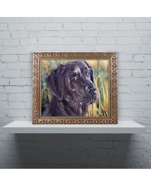 "Trademark Global Jenny Newland 'Forever Faithful' Ornate Framed Art, 16"" x 20"""