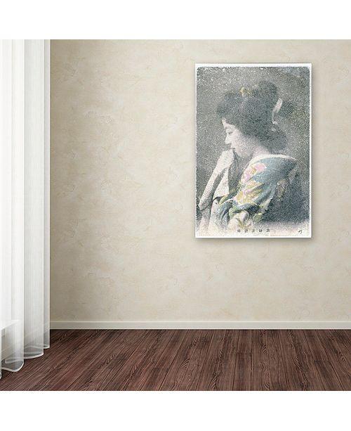 "Trademark Global Nick Bantock 'Handmaid' Canvas Art, 30"" x 47"""